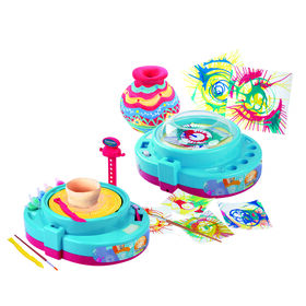 "Imaginarium Creations - Paint & Pottery Wheel ""2 In 1"" Set"