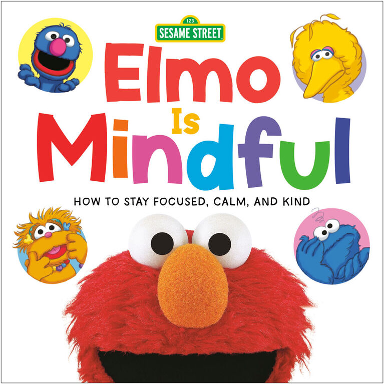 Elmo Is Mindful (Sesame Street) - Édition anglaise