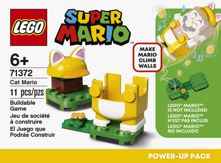 LEGO Super Mario Cat Mario Power-Up Pack 71372