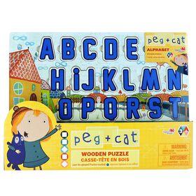 Peg + Cat Casse-t?te de bois (Alphabet et nombre).