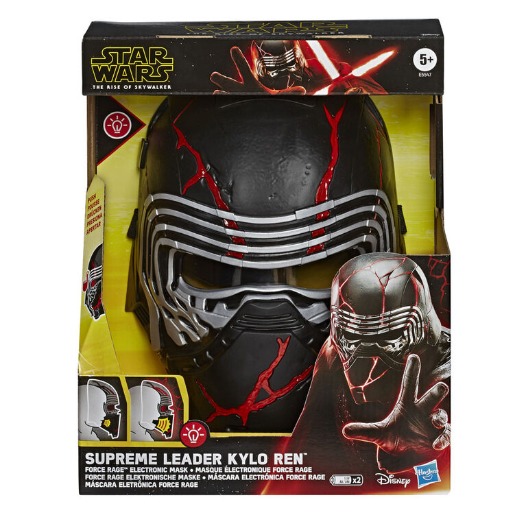 Star Wars : L'ascencion de Skywalker - Masque électronique Force Rage du Suprême Leader Kylo Ren