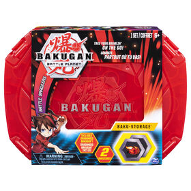 Bakugan, Baku-storage Case (Red) for Bakugan Collectible Creatures