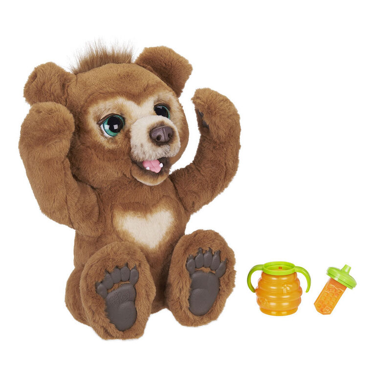 furReal Cubby, the Curious Bear Interactive Plush Toy