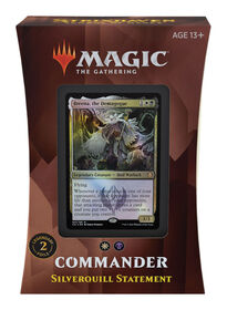 """Magic the Gathering """"Strixhaven: School of Mages"""" Commander Deck-Silverquill Statement - English Edition"""