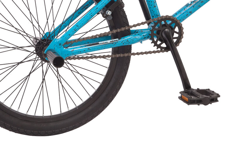 Mongoose RadAttack Bike, Blue - 20 inch