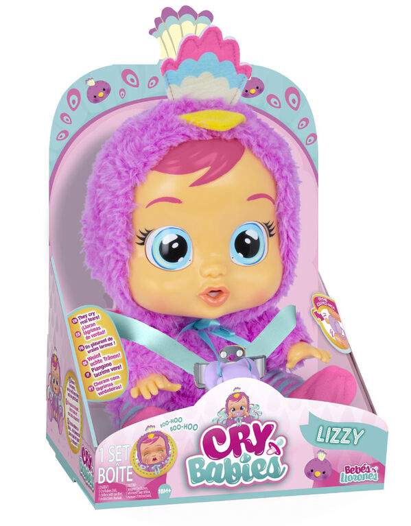 Cry Babies Lizzy Doll