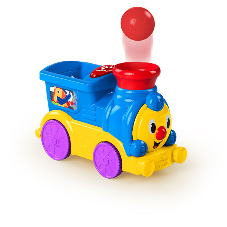 Bright Starts - Having a Ball - Roll & Pop Train Toy