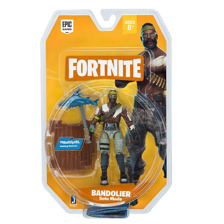 Fortnite Solo Mode Figure Bandolier 1 Figure Pack.