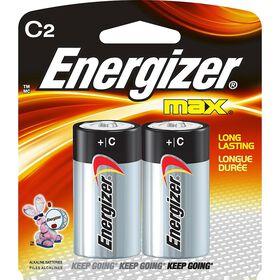 Energizer Max -  Paquet 2 piles C