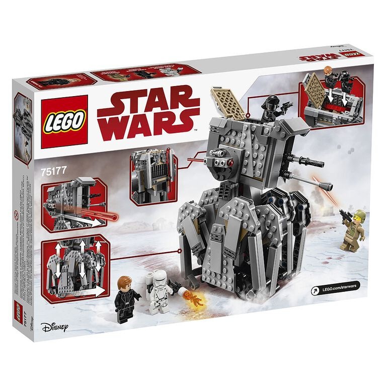 LEGO Star Wars  First Order Heavy Scout Walker™ 75177