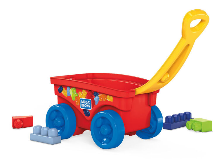 Mega Bloks Pull 'n Play Wagon
