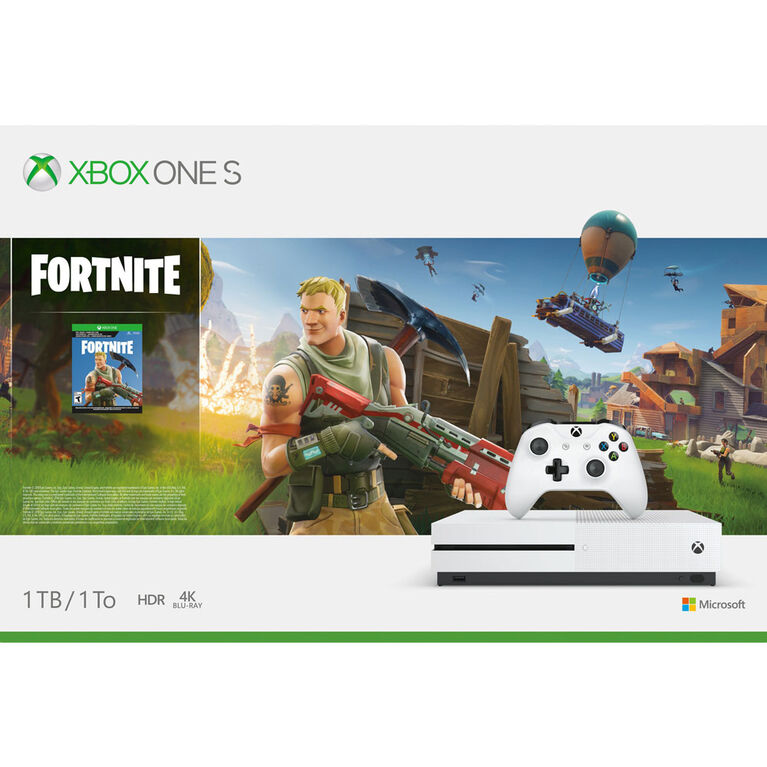 Xbox One - Xbox One S 1TB HW Fortnite