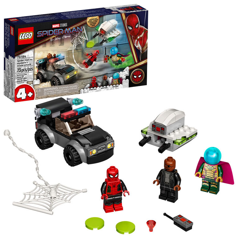LEGO Super Heroes Spider-Man vs. Mysterio's Drone Attack 76184