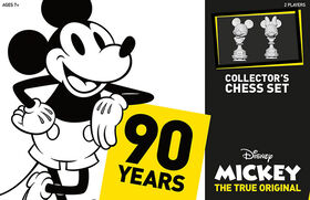 Disney Mickey: The True Original Jeu D'Échecs Pour Collectionneurs
