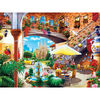Travel Diary Barcelona- 550 Piece Jigsaw Puzzle