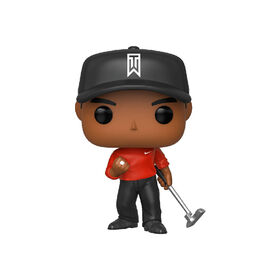 Figurine en Vinyle Tiger Woods (Red Shirt) Par Funko POP! Golf