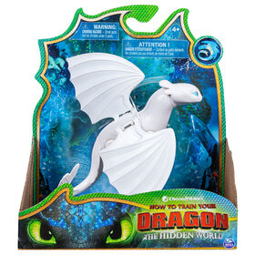 How To Train Your Dragon, Lightfury Dragon Figure with Moving Parts