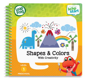 LeapFrog LeapStart Preschool Shapes & Colours Activity Book - English version