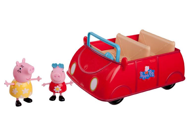 Peppa Pig - La voiture rouge de Peppa