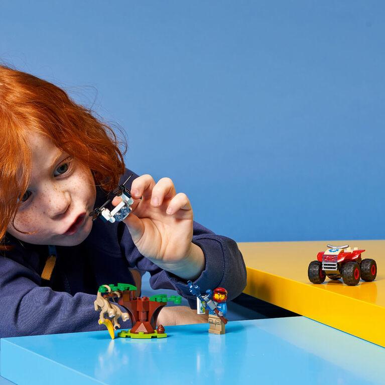 LEGO City Wildlife Le VTT de sauvetage d'animaux 60300
