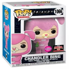 Figurine en Vinyle Chandler as Bunny (Flocked) Funko Friends - Notre exclusivité