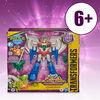 Transformers Bumblebee Cyberverse, figurine Starscream Battle Call, classe Soldat
