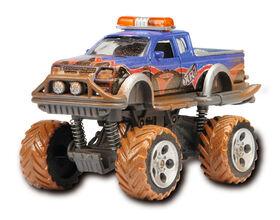 Eat My Dust Rally Monster - SUPER BAT - BLUE