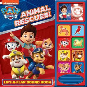 Lift A Flap Sound Book Paw Patrol - English Edition