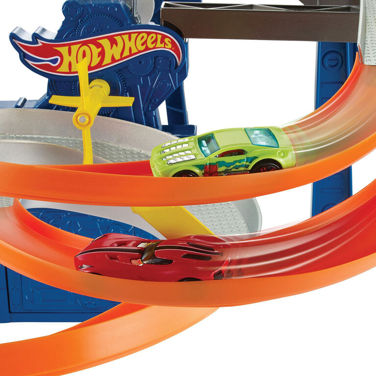 Hot Wheels Factory Raceway Playset