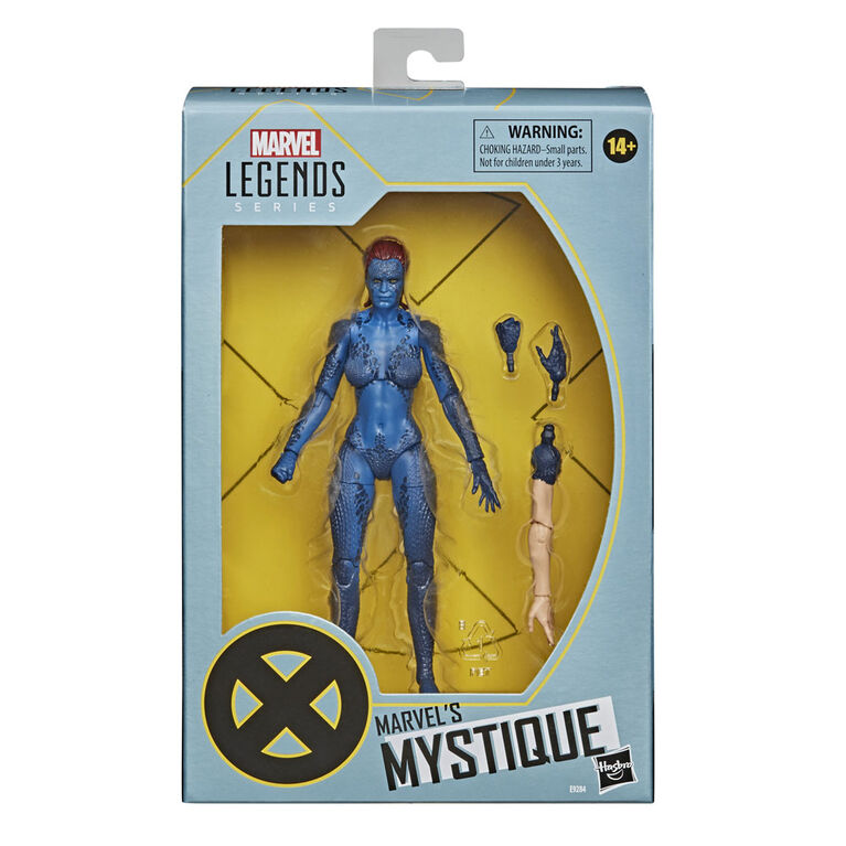 Hasbro Marvel Legends Series X-Men 6-inch Collectible Marvel's Mystique Action Figure Toy
