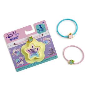 Lucky Fortune Série magique - Bracelet élastique de couleur changeante - Paquet de 2