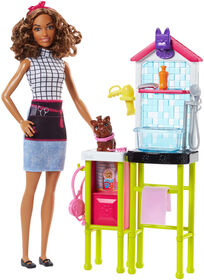 Barbie Pet Groomer Doll Playset