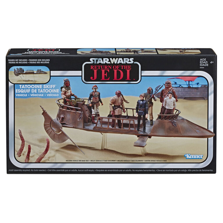 FREE shipping Star Wars POTF Tatooine Skiff 26458 Sealed