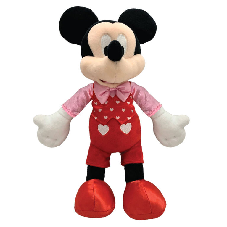 Peluche Disney de la Saint-Valentin - Mickey Mouse