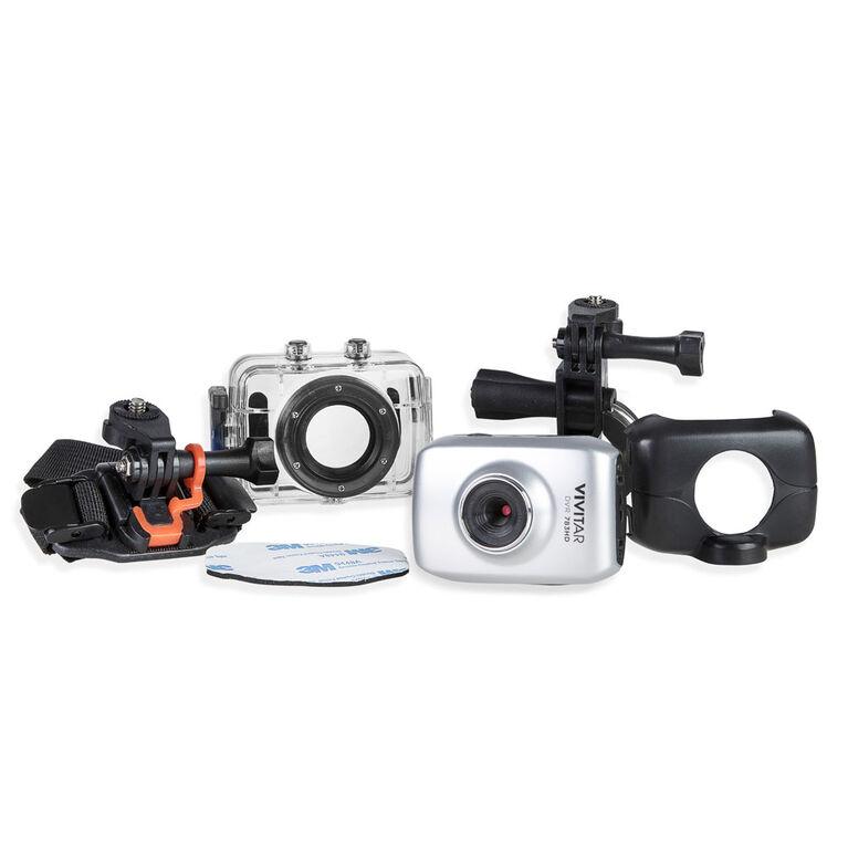 Vivitar - HD Action Camera - Silver