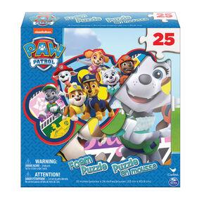 PAW Patrol - Puzzle en mousse de 25 pièces