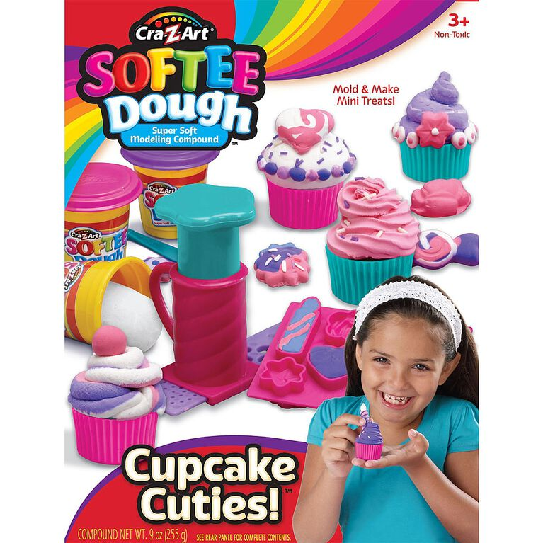 Cra-Z-Art - Softee Dough Cupcake Maker