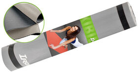 Iron Body Fitness IBF - 6mm Two Tone Grey Yoga Mat