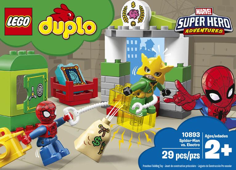 LEGO DUPLO Super Heroes Spider-Man vs Electro 10893