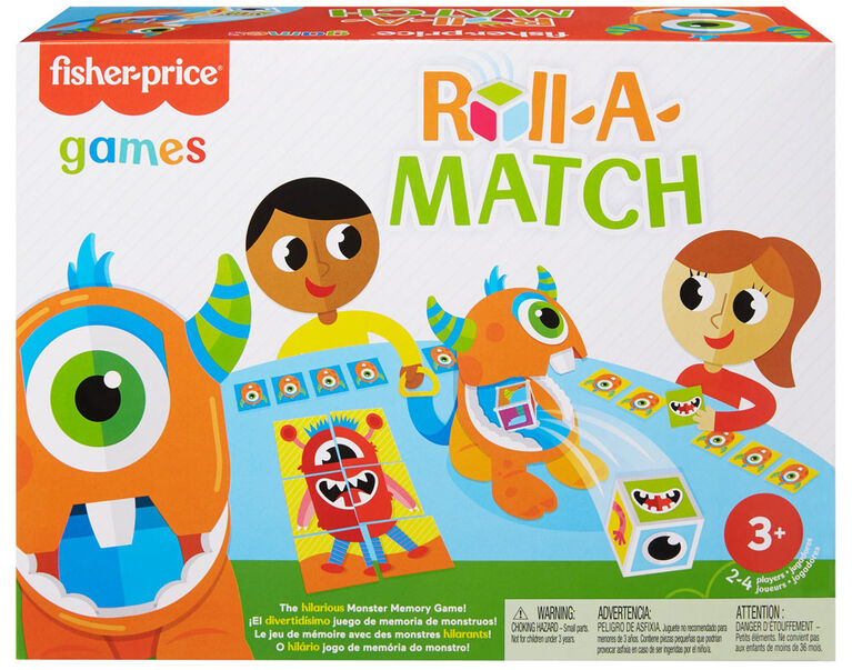 Fisher-Price - Roll-a-Match