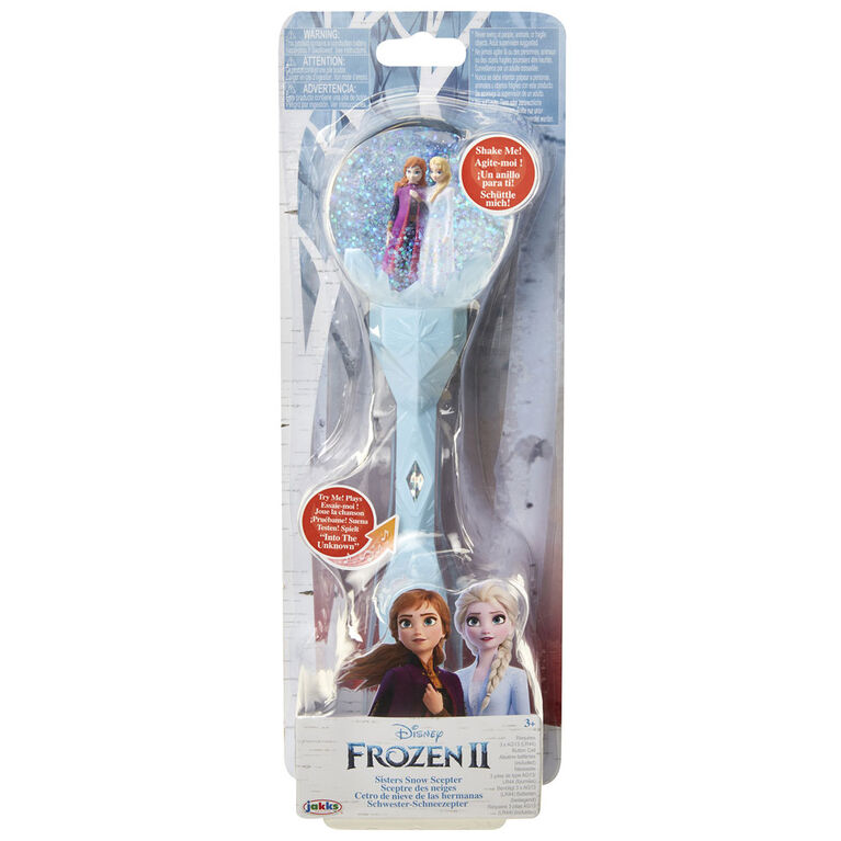 Frozen II Sisters Musical Snow Wand
