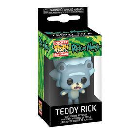 Funko POP! Keychain Animation: Rick and Morty - Teddy Rick - English Edition