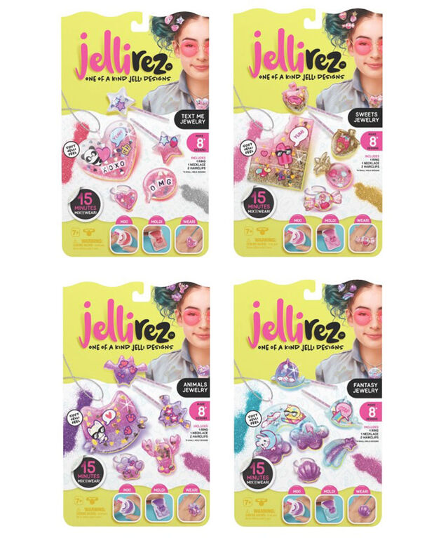 Jelli Rez - Style Me Pack (each sold separately)