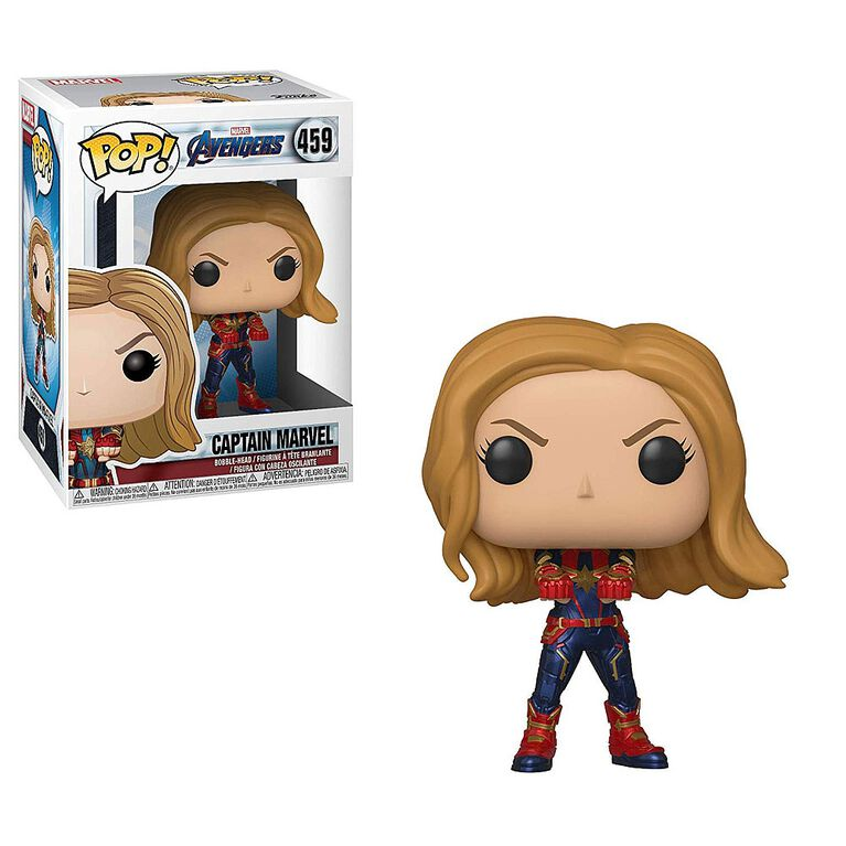 Funko POP! Marvel: Avengers Endgame - Captain America Vinyl Figure
