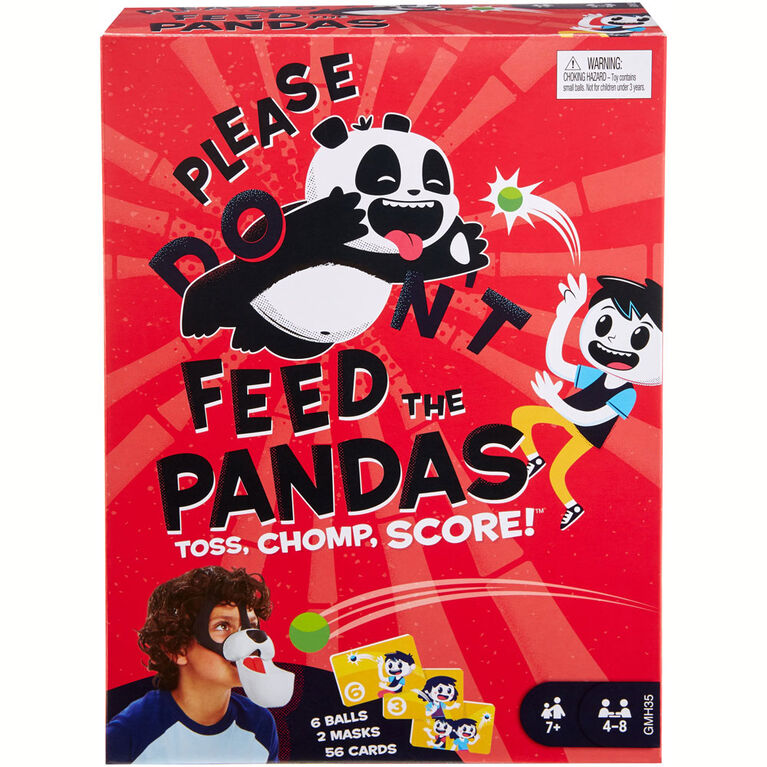 Please Feed the Pandas