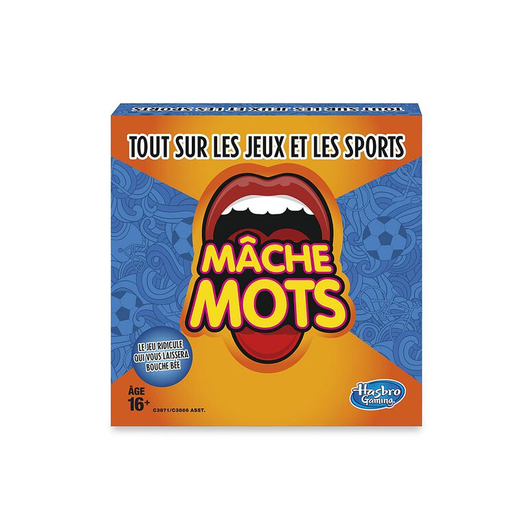 Hasbro Gaming - Speak Out Expansion Pack: All About Sports and Games - French Version