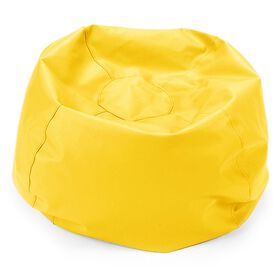 Comfy Kids - Comfy Bag Beanbag in Yellow Vinyl