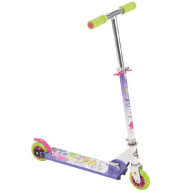 Huffy Disney Tinkerbell Folding Inline Scooter