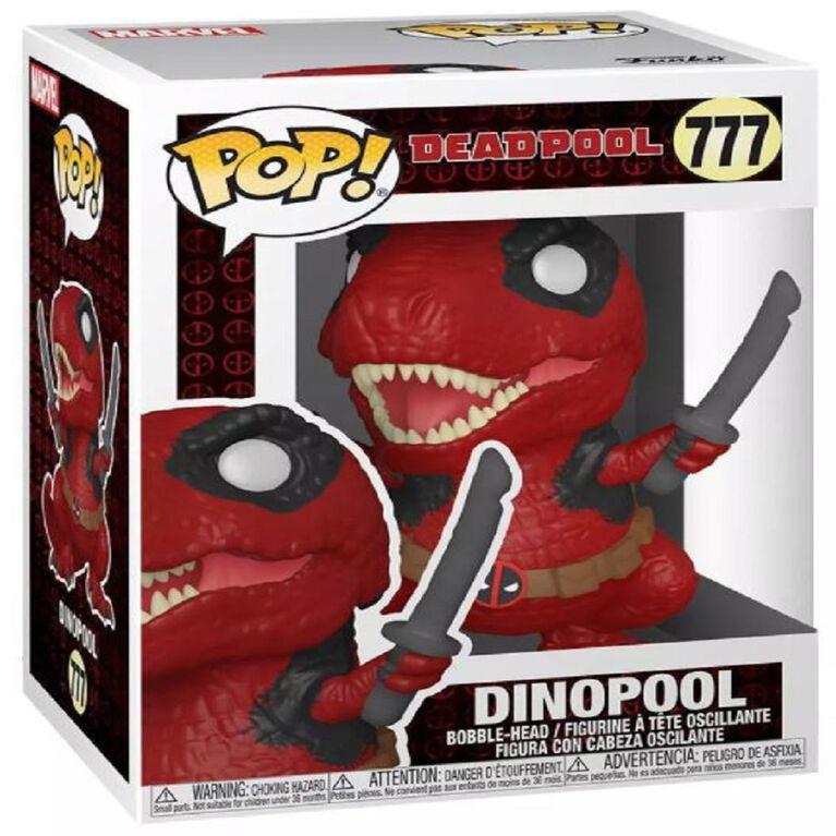 Figurine en vinyle Dinopool par Funko POP! Marvel Zombies