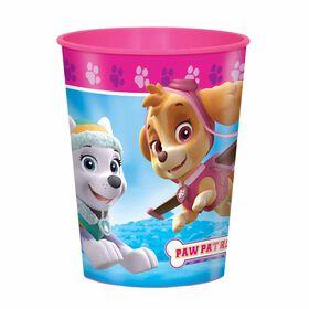 Paw Patrol Pink 16oz Plastic Cup